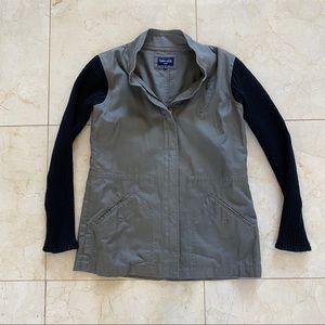 Splendid Jacket with Cotton Sleeves Sz Large